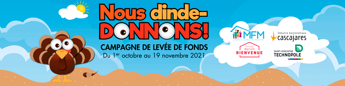 Non dinde-donnons! Campagne 2021